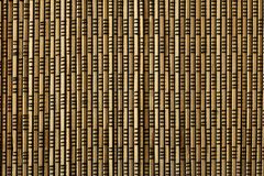 Brown bamboo mat Royalty Free Stock Photo