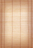 Brown bamboo matting background and texture Stock Photos