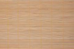 Brown bamboo rug Royalty Free Stock Image