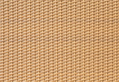 Brown bamboo weaving pattern texture and background Royalty Free Stock Image