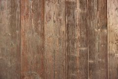 Brown Barn Wooden Boards Panel For Modern Vintage Home Design Royalty Free Stock Images