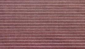 Brown a barré la texture de tissu Photos libres de droits