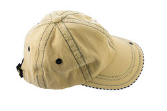 Brown baseball cap Royalty Free Stock Images