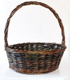 Brown basket Royalty Free Stock Photography