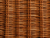 Brown basket weave pattern. Texture Stock Images