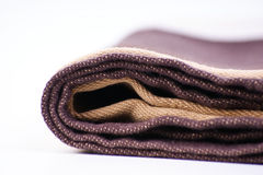 brown bath towel Royalty Free Stock Photography