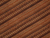 Brown batik Stock Image