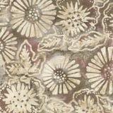 Brown-Batik-Hintergrund Stockbild
