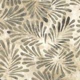 Brown Batik Pattern Royalty Free Stock Images