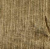 Brown-Baumwollstoffgewebe Stockfoto