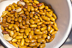 Brown Beans Royalty Free Stock Photos