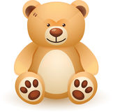 Brown bear toy Royalty Free Stock Photos