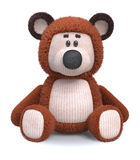 Brown bear toy Royalty Free Stock Image