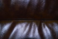 Brown beautiful leather texture as background stock photos