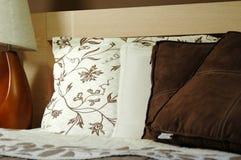 Brown bedroom decoration Stock Photo