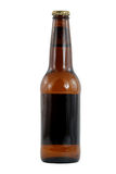 Brown beer bottle Royalty Free Stock Photography