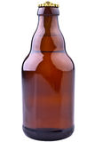 Brown Beer Bottle (German Beer) Royalty Free Stock Images