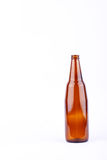 Brown beer glass bottle for beer beverage party on white background drink isolated. The brown beer glass bottle for beer beverage party on white background drink Stock Photos