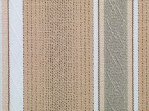Brown and beige retro fabric Stock Images