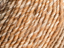 Brown and beige wool Stock Photos