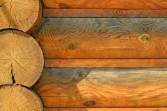 Brown bel drewniany tło zdjęcia royalty free