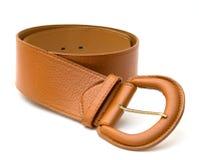 Brown belt. Royalty Free Stock Image