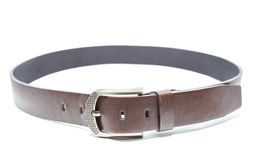 Brown belt. Polite for composing simple stock images