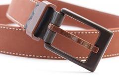 Brown belt Royalty Free Stock Image