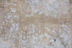 Brown betonowa ściana z few narysy fotografia stock
