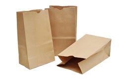Brown-Beutel Stockfoto