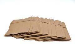 Brown-Beutel Stockbilder