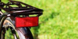 Brown bicyklu comber, bagażnik fotografia royalty free
