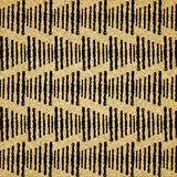Brown and black  abstract art background Stock Photography