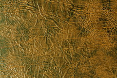Brown and black artificial leather texture. Stock Photography