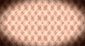 Pattern of squares, rectangles and curved stripes on a light background. Brown, black, beige, pink color graphic ornament. Blackout effect. Background for Royalty Free Stock Images