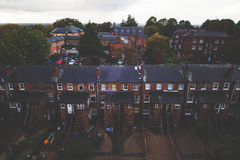 Brown and Black Buildings Royalty Free Stock Image