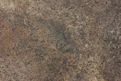 Brown and black concrete macro background. Texture Royalty Free Stock Photos