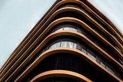 Brown and Black High Rise Building Royalty Free Stock Photo