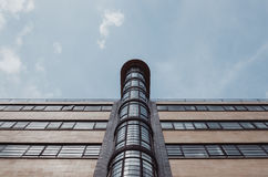 Brown and Black High Rise Building Under Blue Sky Royalty Free Stock Photography
