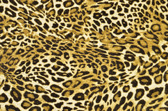 Brown and black leopard pattern. Royalty Free Stock Photography