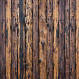Brown and black planks background Stock Images