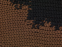 Brown and black textile background. Close up Stock Photos