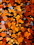 Brown-Blasenhintergrund Stockfotografie