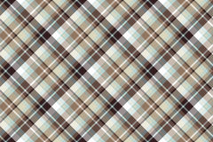 Brown blue diagonal fabric seamless pattern. Vector illustration Royalty Free Stock Images