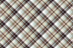 Brown blue diagonal fabric seamless pattern. Vector illustration Vector Illustration
