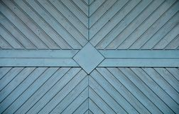 Brown and Blue Wooden Surface royalty free stock photo
