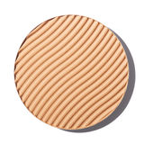 Brown blush cosmetic on white Stock Photo