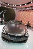 Brown BMW Gran Coupe 6 series Royalty Free Stock Photos