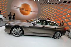 Brown BMW Gran Coupe 6 series Royalty Free Stock Photo