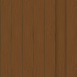 Brown boards Background vector Illustration. Royalty Free Stock Photos